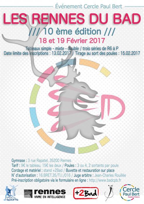 Les Rennes Du Bad Rennes Accrobad